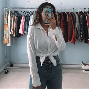 Gap White Button Down